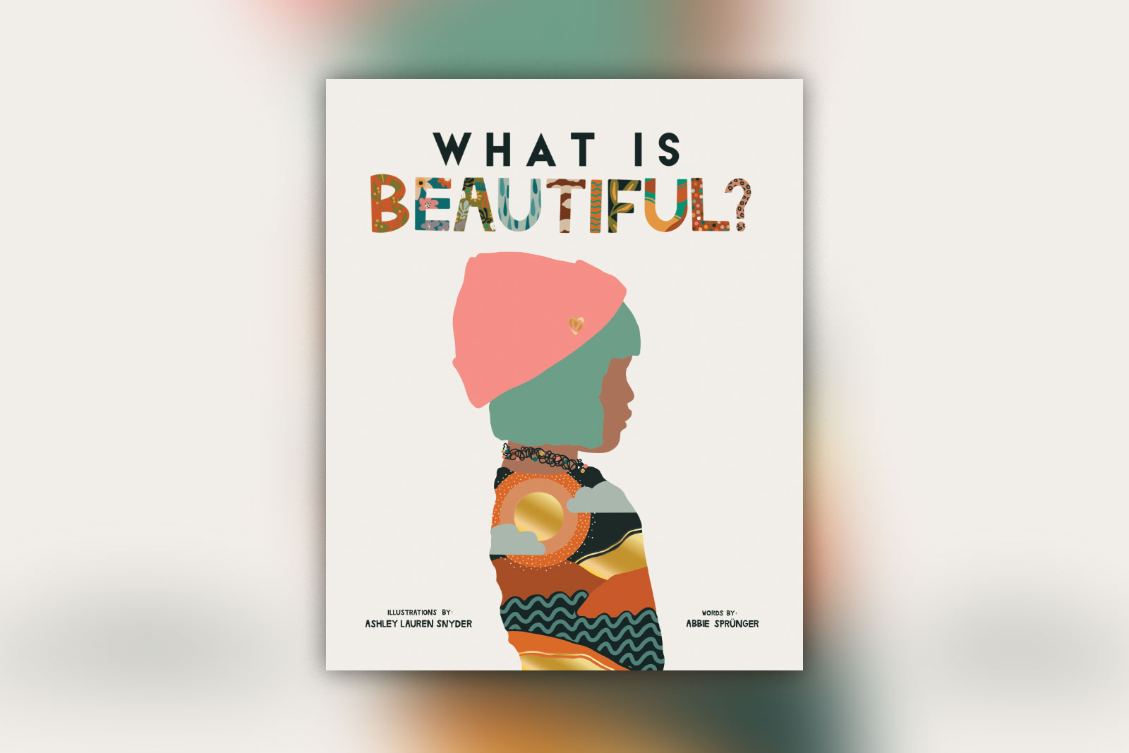 What is beautiful book cover